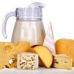 Los productos lácteos son una fuente rica en vitamina A