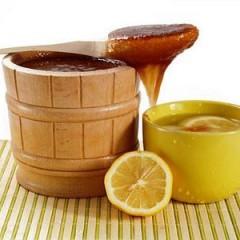 Limón con miel para la garraspera de garganta