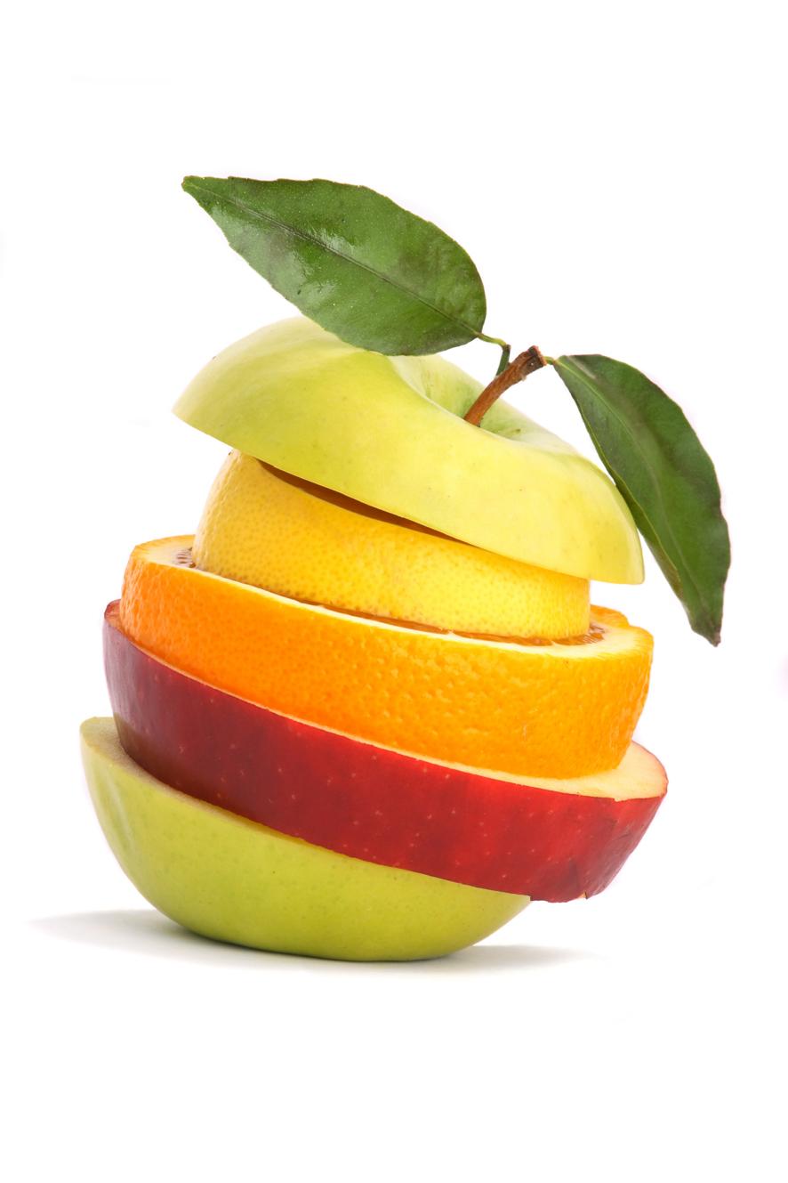 La fruta y el entrenamiento